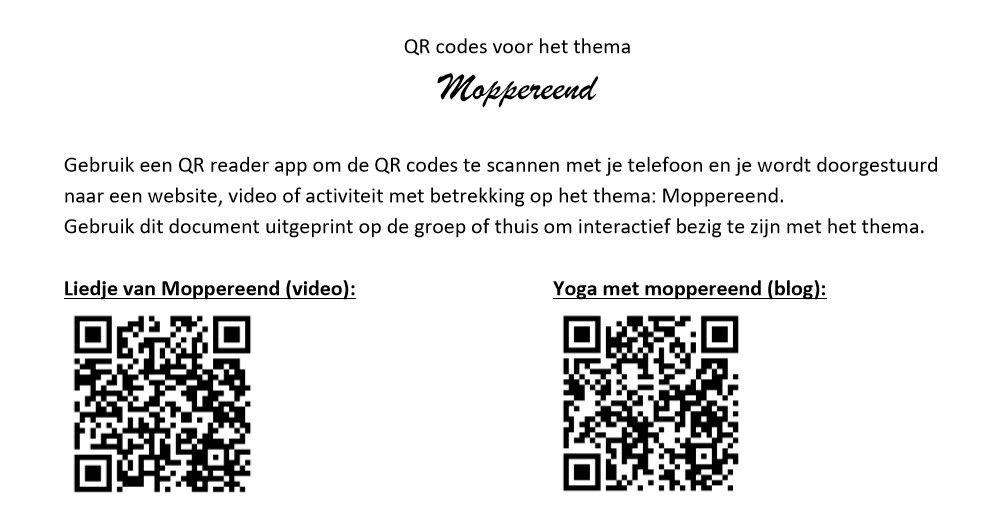 hier een document met qr codes om en blogs