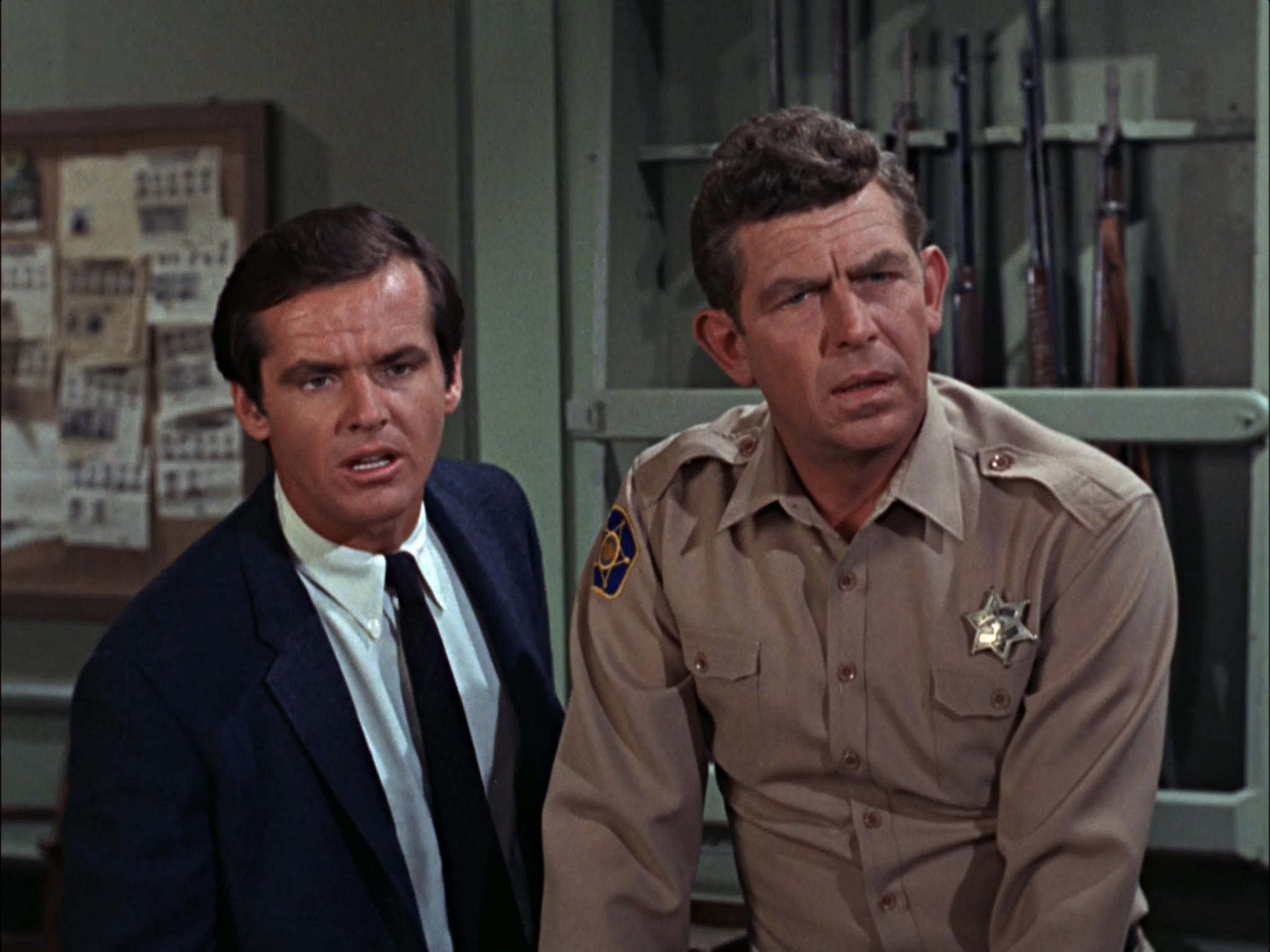 Jack Nicholson on The Andy Griffith Show | The andy griffith show, Jack  nicholson, Andy griffith