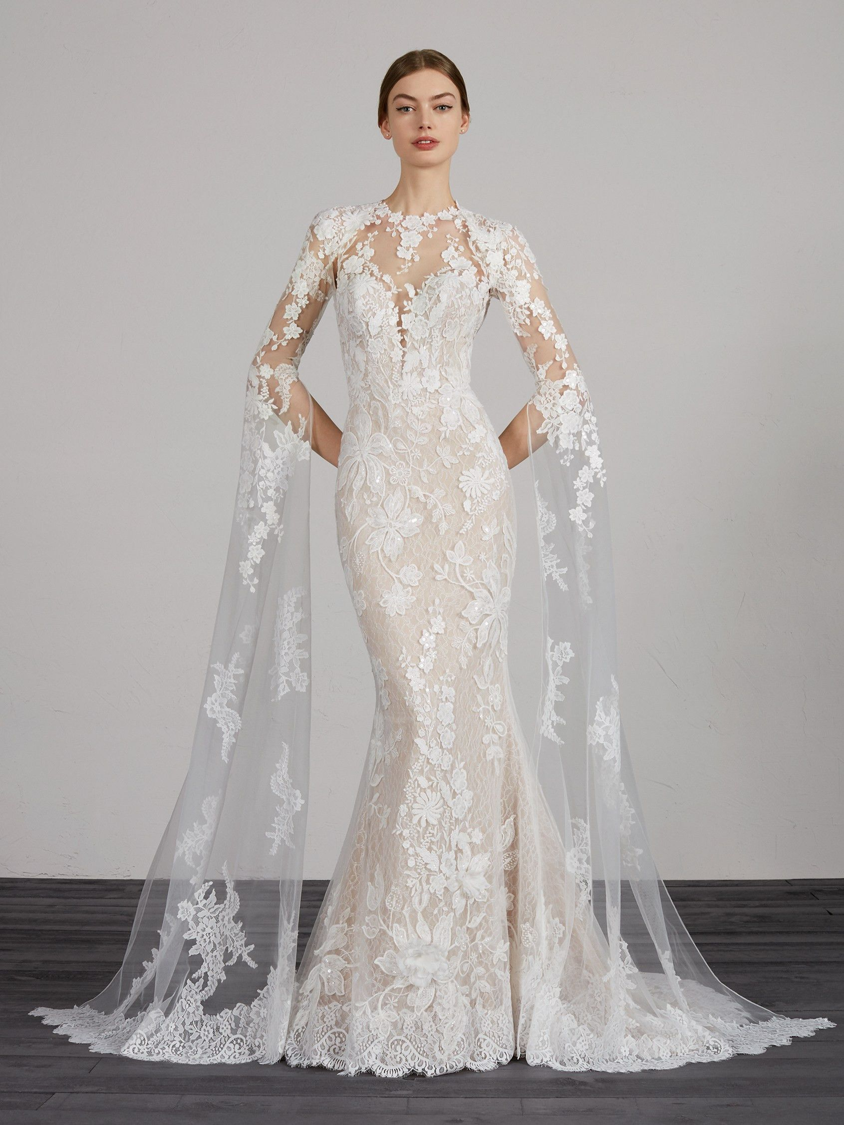 Pronovias Mahon In 2020 Wedding Dresses Designer Wedding