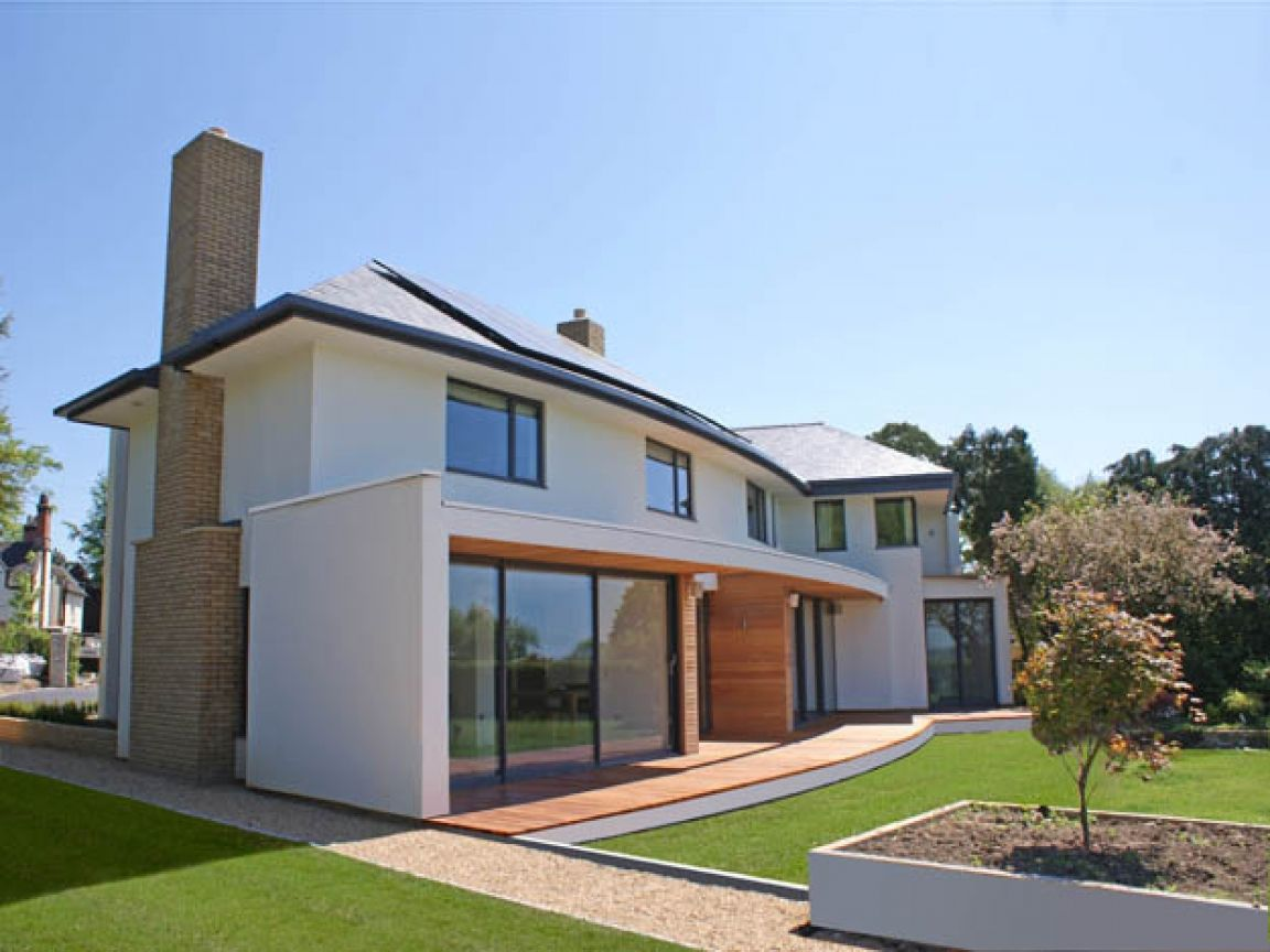 Modern contemporary house designs uk