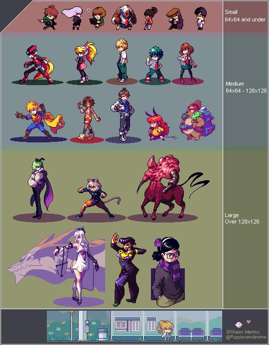 shawn 🐣 on | pixel art - General | Pixel art games, Cool pixel art