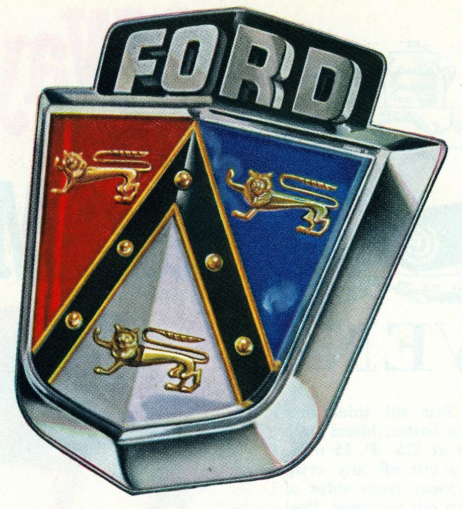 Ford badge illustration scanned by file photo