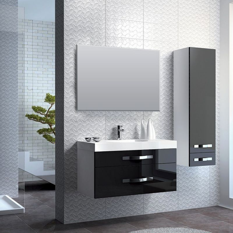 77 Ensemble Meuble Salle De Bain Noir Mat 2019 Bathroom Installation Hotel Mirrors Modern Bathroom