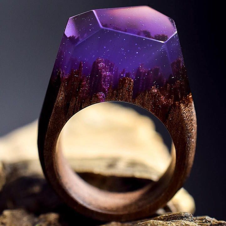 This past spring we became enamored with the handcrafted accessories of Secret Wood, a Canadian shop that encases tiny, exquisite worlds in rings made…