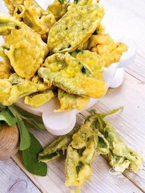 La Tempura croccante di foglie di salvia è uno stuzzichino davvero goloso, che trasforma un semplice ingrediente in un antipasto sfizioso!