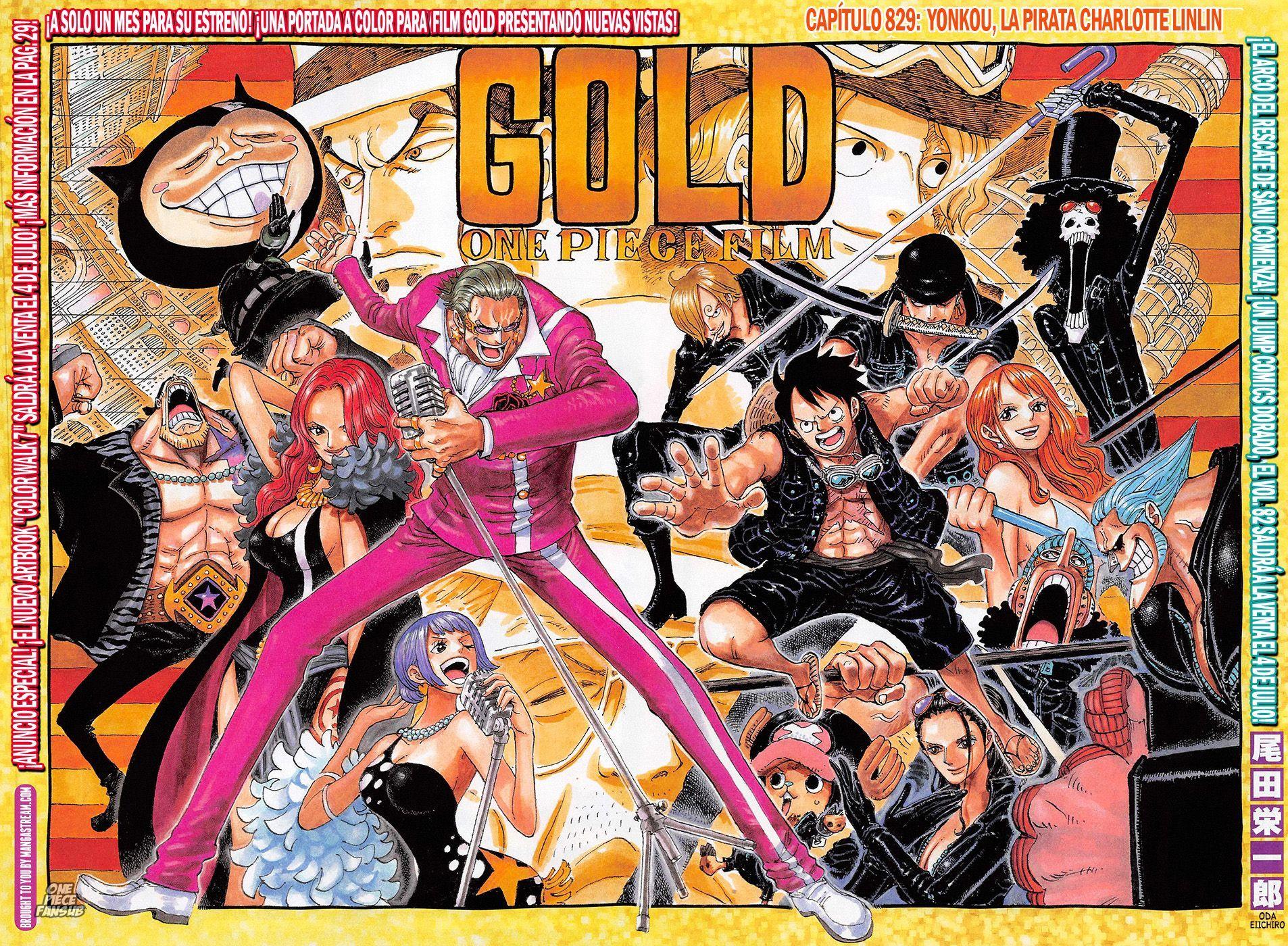 One Piece Capítulo 829 página 1 (Cargar imágenes 10