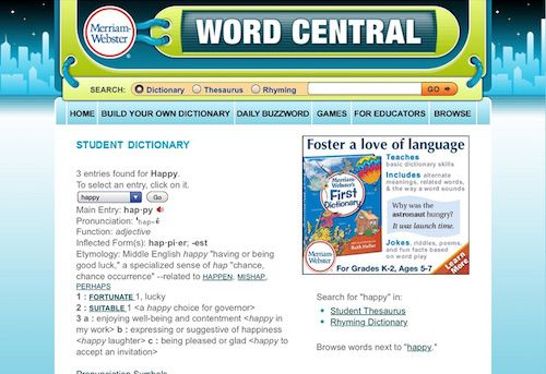 Top 5 Dictionary Apps for Kids Scholastic Parents