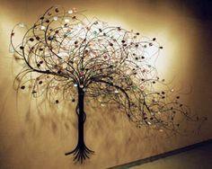 Tree Of Life Metal Wall Sculpture Giant 92 Tree Of Life Metal