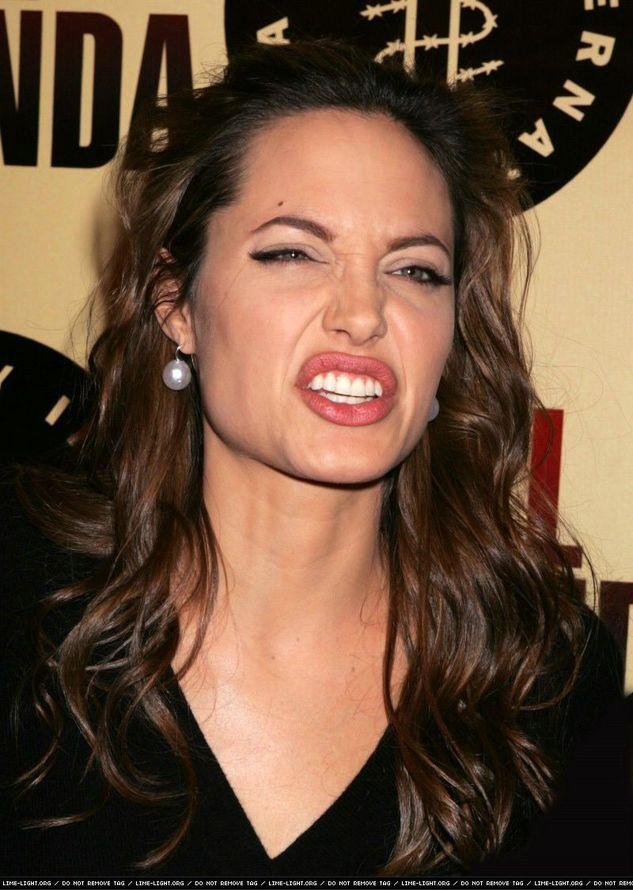 Анджелина джоли смешные картинки
