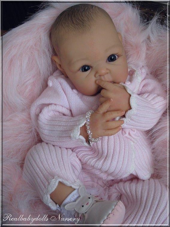Reborn Nr 91 Adopted Paris A Stoete Schuiteman Real Life Baby Dolls Cute Baby Dolls Newborn Baby Dolls