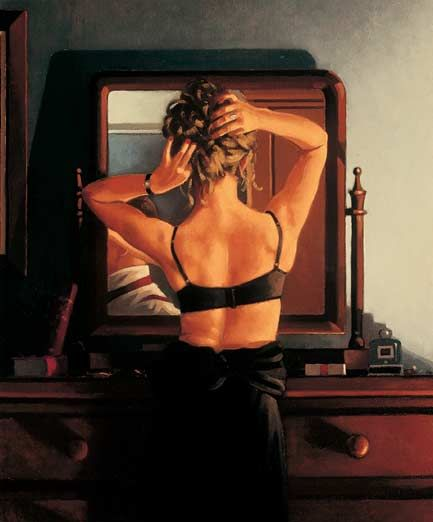 Vanity: Vettriano's The Rooms of a Stranger