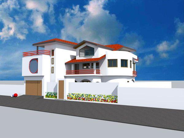 Projet De Construction D Une Villa A Conakry En Guinee