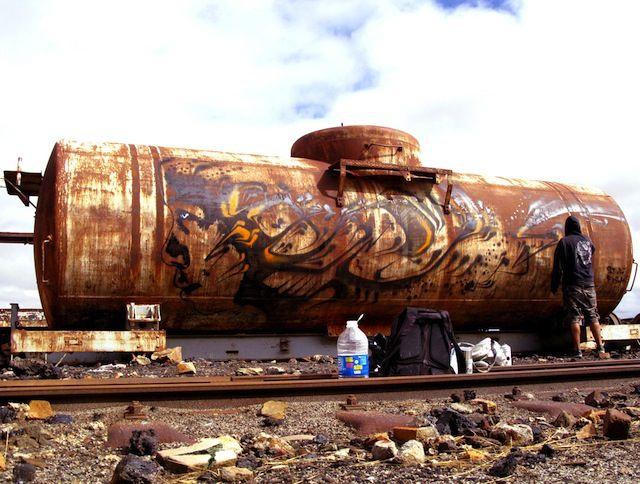 Stinkfish · Uyuni (Bolivia) Train Cementery