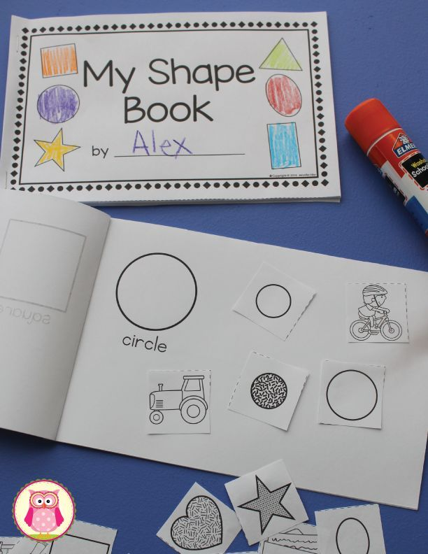 picture about Printable Shape Book known as Form Ebook Effective Pre-K Condition pursuits kindergarten