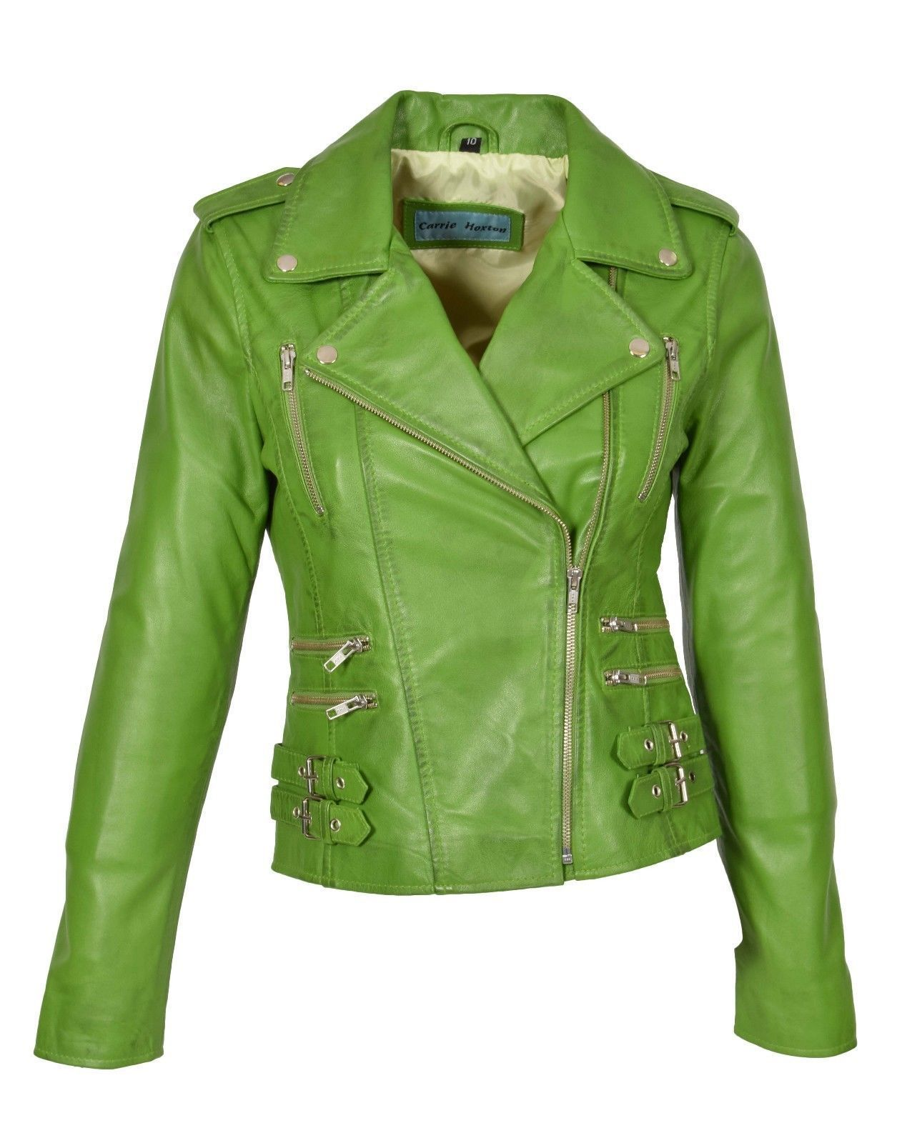Pin by Brian B on Fashion Green leather jackets, Leather