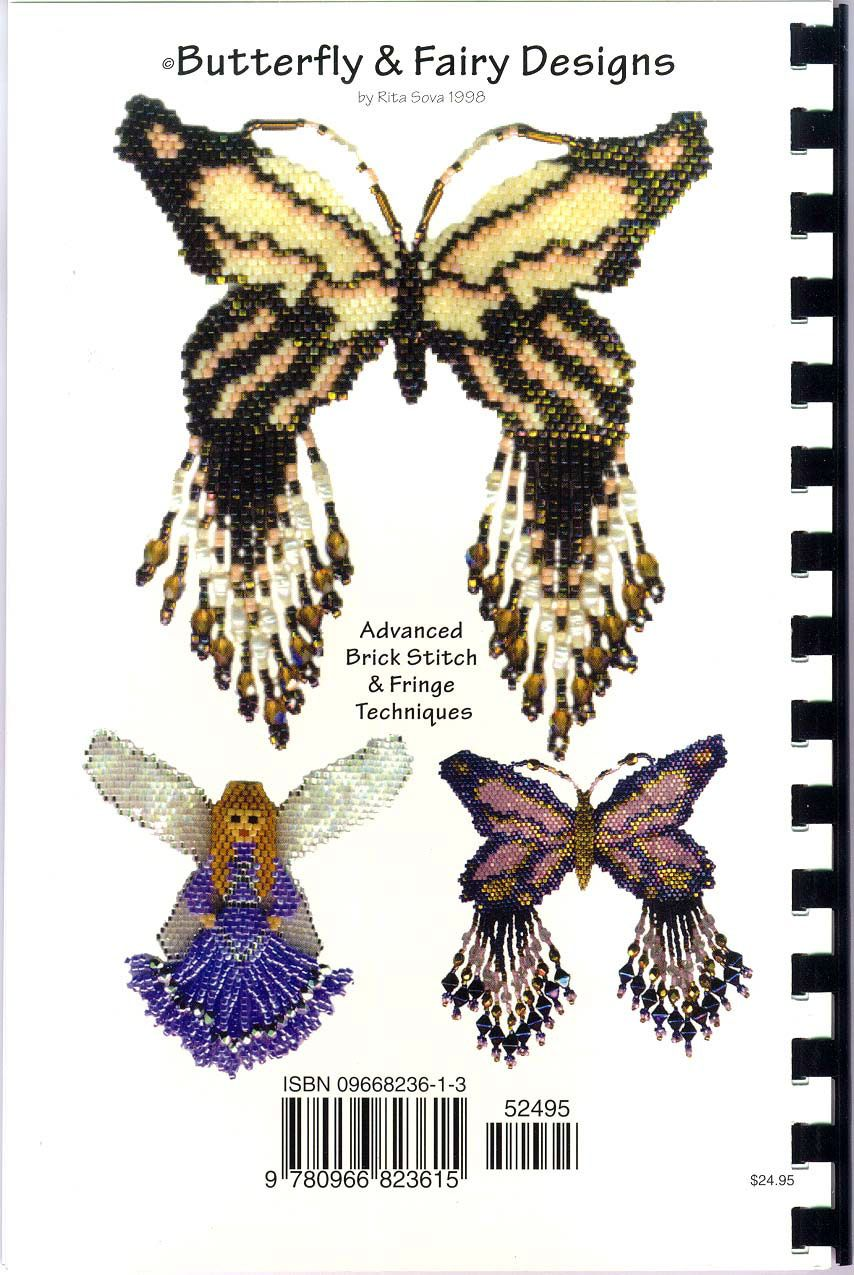 bead embroidery patterns free | Butterfly & Fairy Design Book by ...