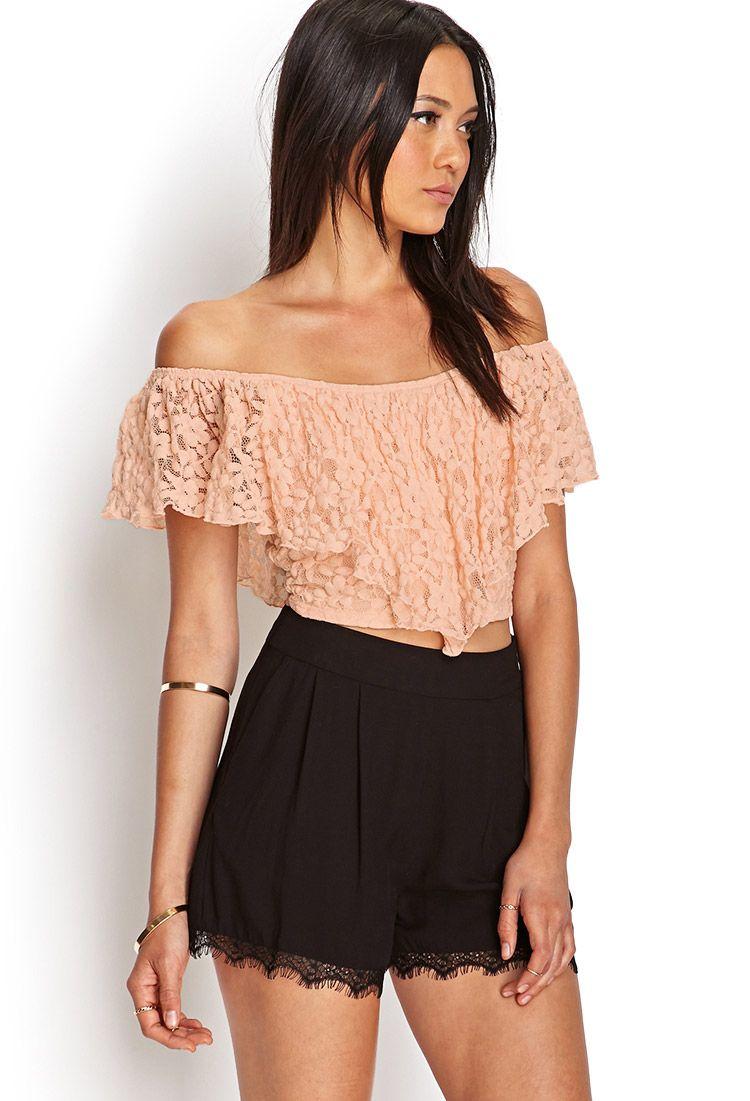 Beautiful lace tops for women fashionoon beautiful