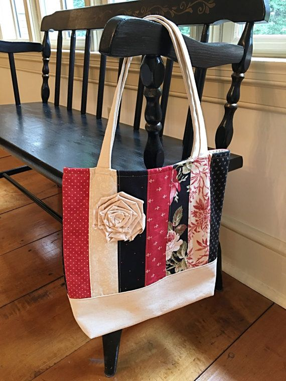 Tote Bag Pattern Quilt Pattern Pdf Market Bag Sewing Pattern Project