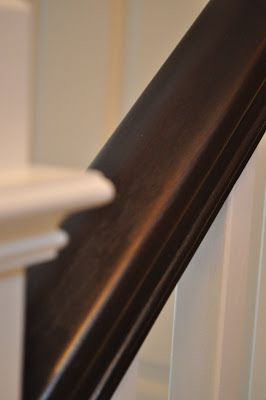 The Dizzy House: My $25 Banister is BORN!   How to paint railing