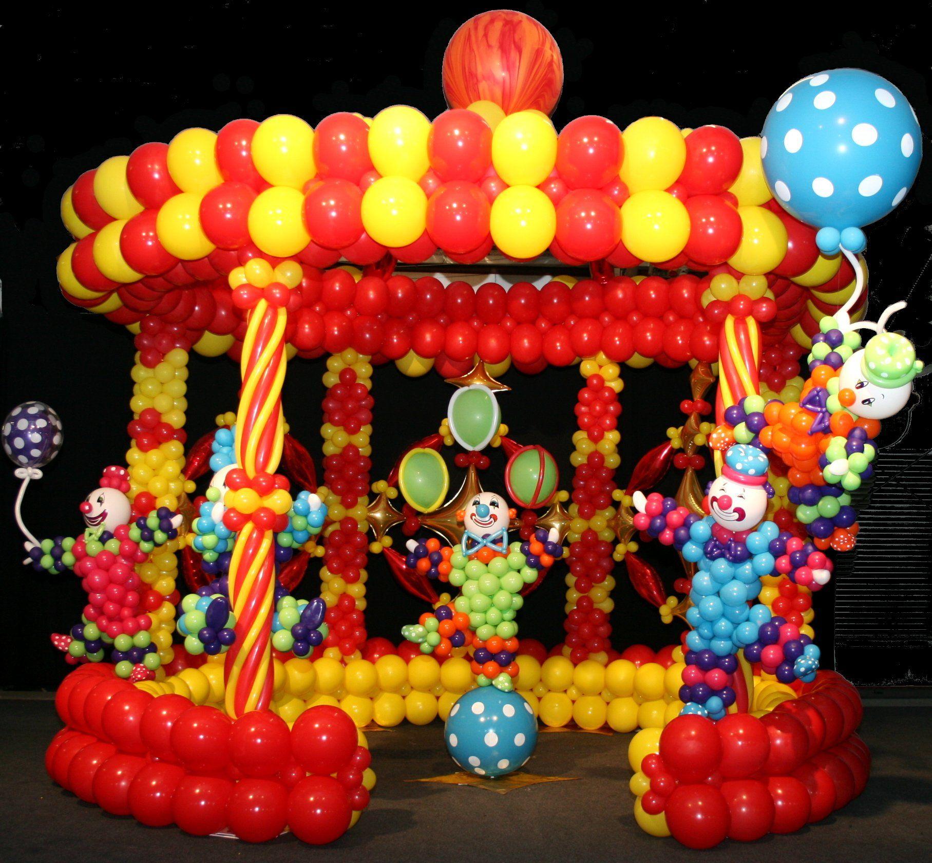 Circus Ring Balloon Canopy   Balloon Ideas   Pinterest ...