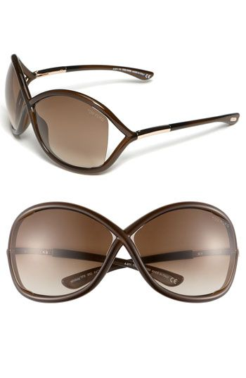 09aa0f56944 Tom Ford  Whitney  64mm Open Side Sunglasses available at  Nordstrom
