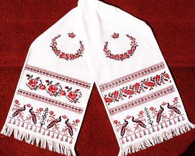 Свадебный рушник - Форум по вышивке крестом   Свадьба