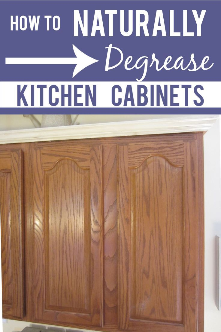Degrease Kitchen Cabinets With An All Natural Homemade ...