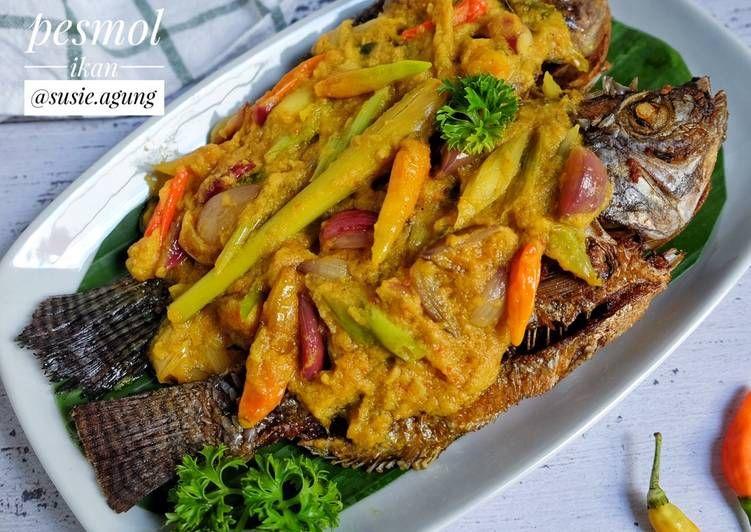 Resep Pesmol Ikan Oleh Susi Agung Resep Resep Resep Ikan Makanan Dan Minuman
