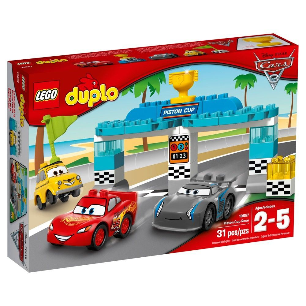 Car 3 toys  Lego Duplo DisneyPixar Cars  Piston Cup Race   Products