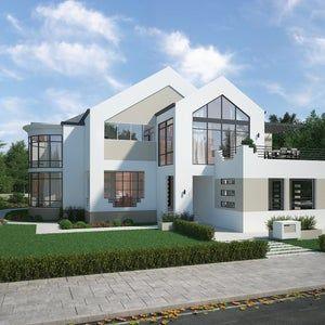 5 Bedroom House Floor Plan Instant Download Luxury Floor Plans House Plans Downloadable House Pla