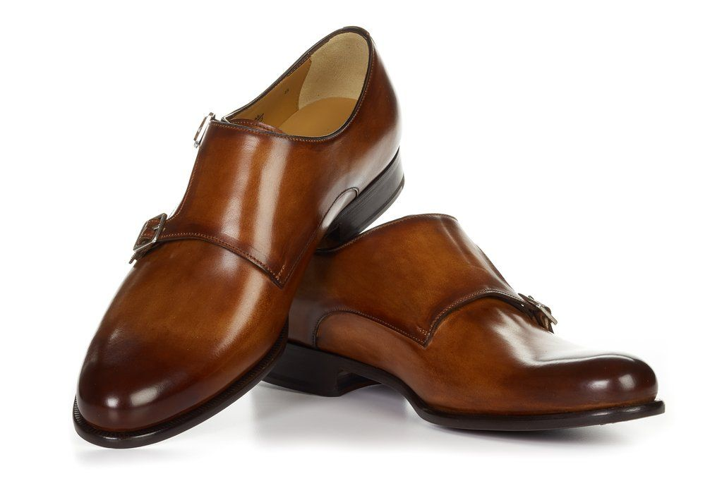 feff493181a2 The Poitier Double Monk Strap - Havana Brown