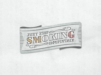 Just-stop-smoking- (i know i know i know)