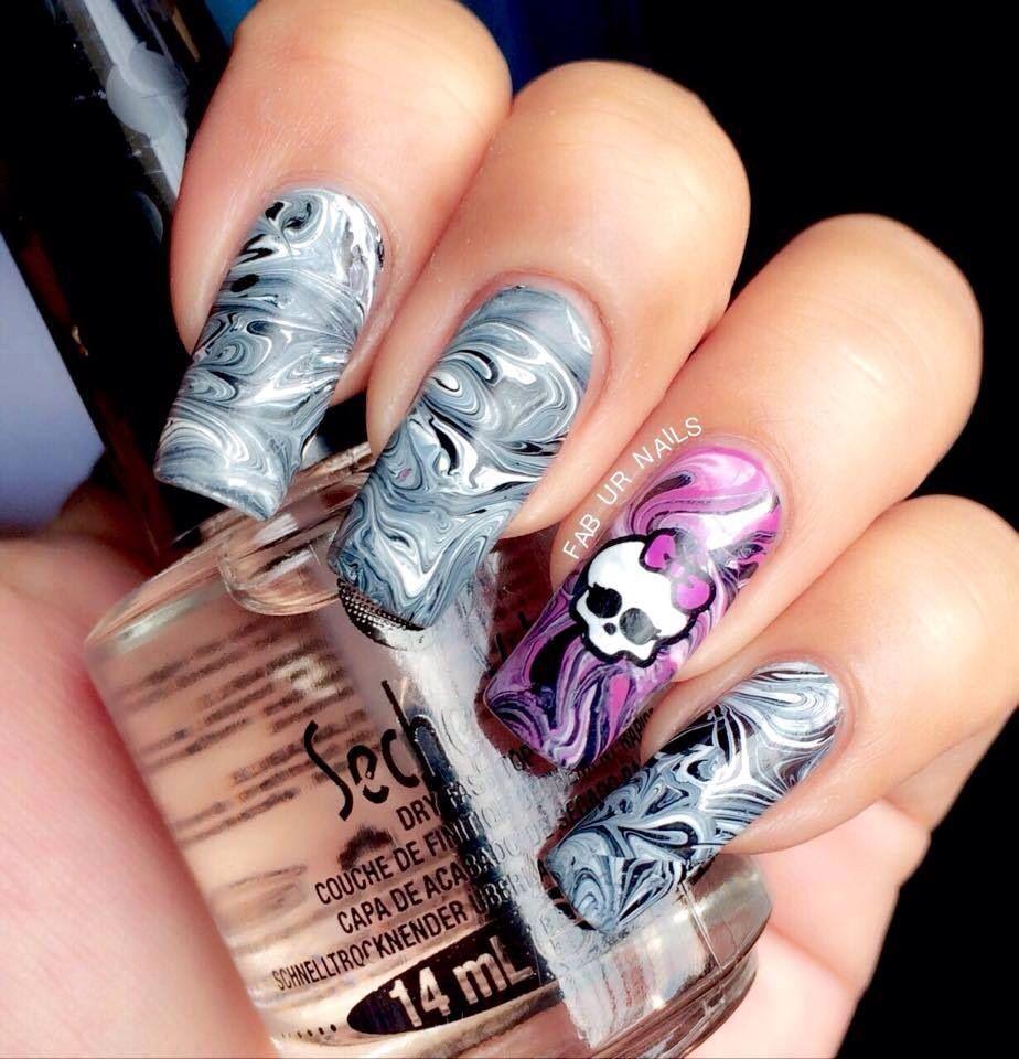 Monster High Uas Decoradas Pinterest Monster High