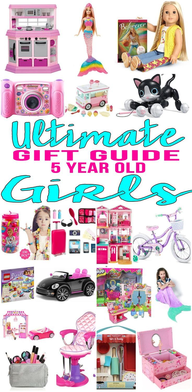 Top Gifts for 5 Year Old Girls Want | Christmas gifts for ...