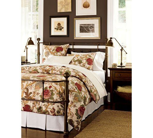 Cal King Pottery Barn Mendocino Iron Bed Click For More