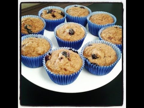 Muffin Light de Blueberry - Receitas da Mussinha - Episódio 3 - YouTube