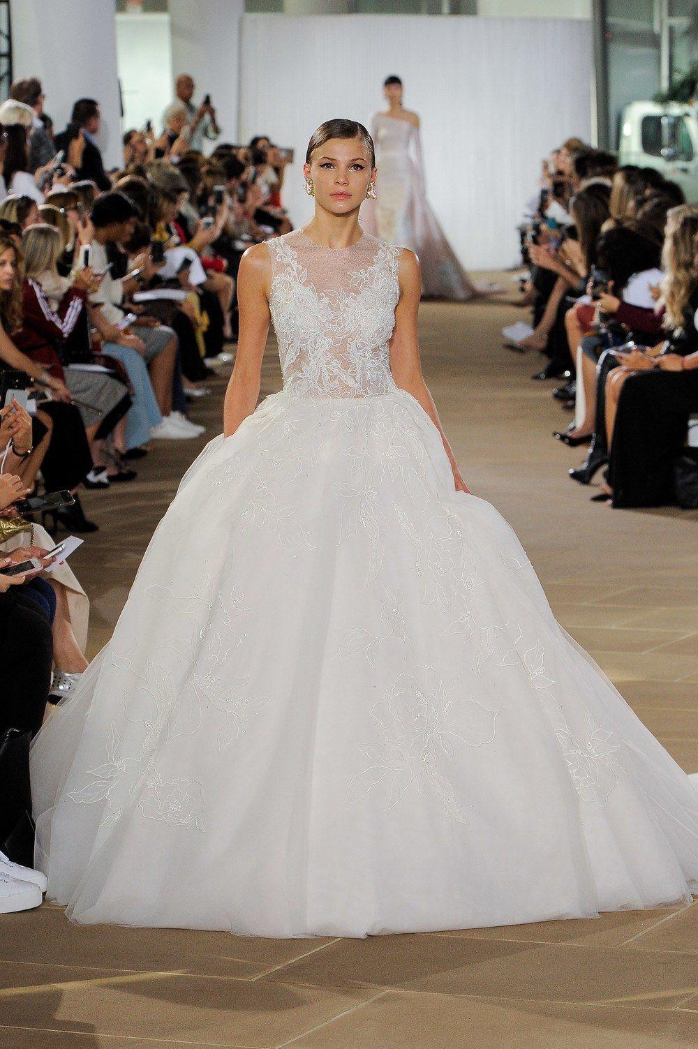 3f12ed386e Ines Di Santo Fall 2019 Bridal Runway Collection
