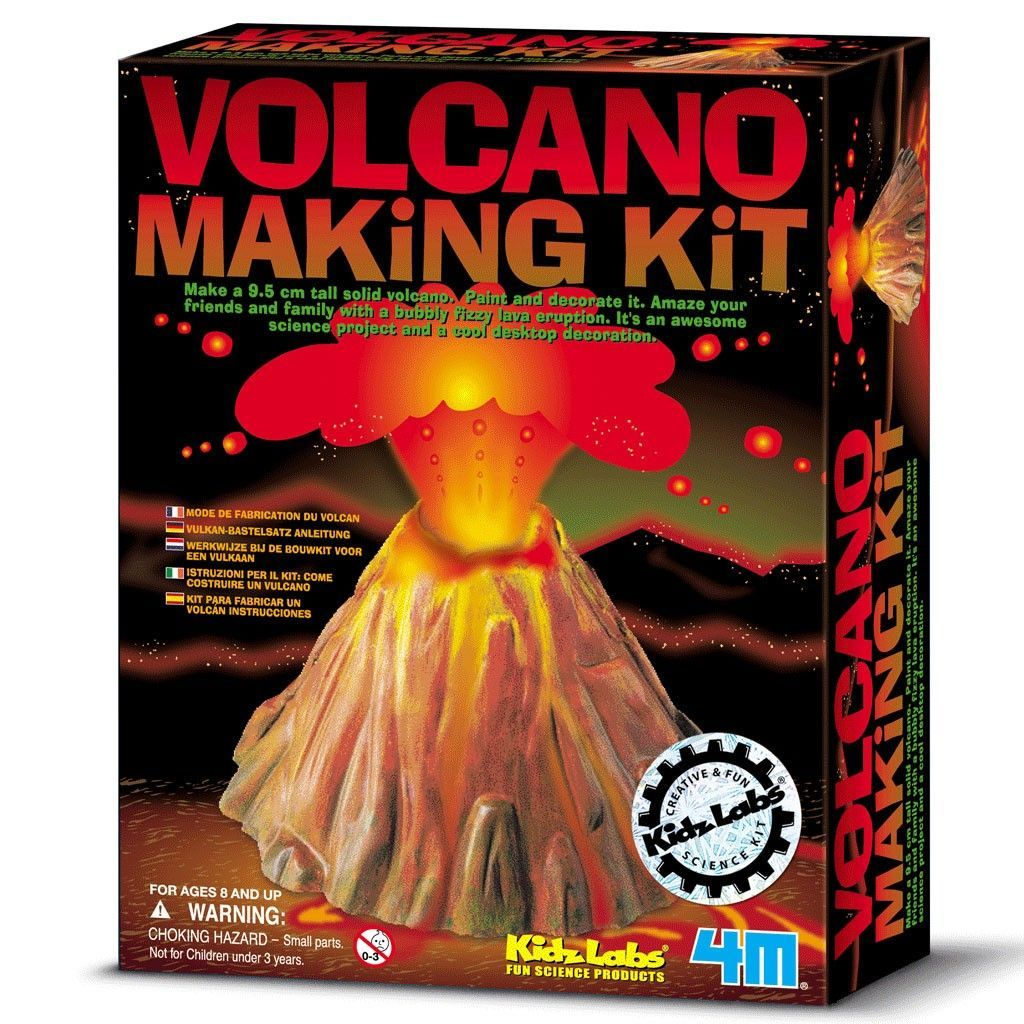 Why Not Let Your 9 Year Old Girl Make This Volcano And
