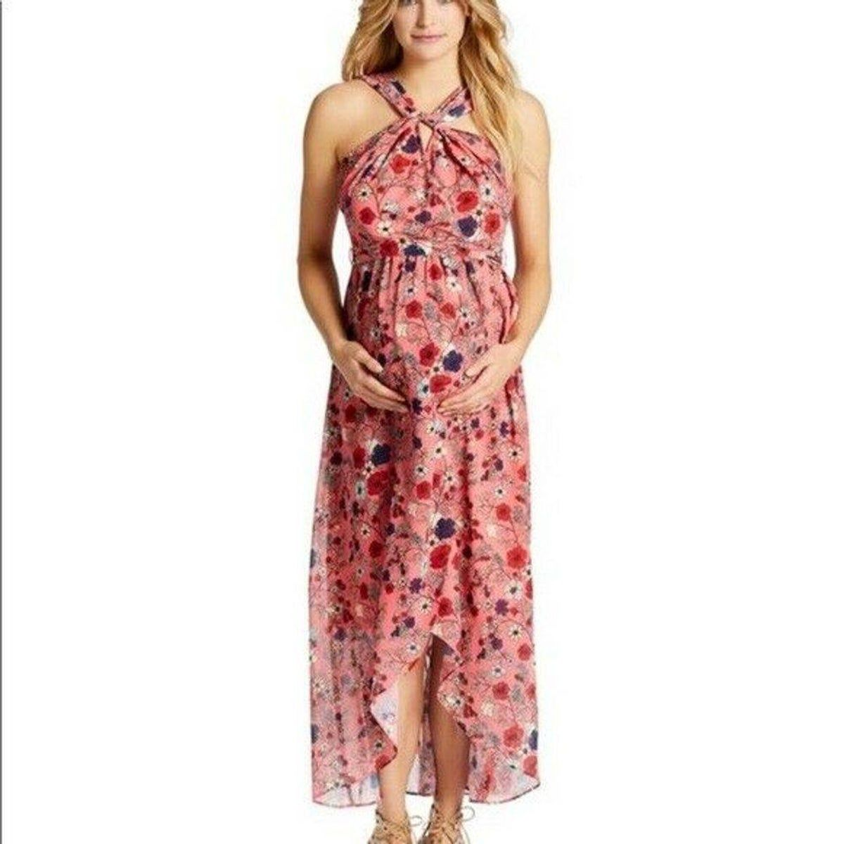 Jessica Simpson Maternity Maxi Dress XL