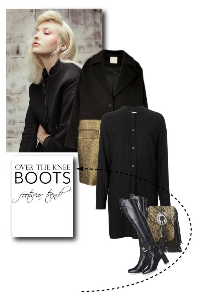 """Rock On: Over-The-Knee Boots"" by drn57 ❤ liked on Polyvore featuring Étoile Isabel Marant, Yves Saint Laurent and OverTheKneeBoots"