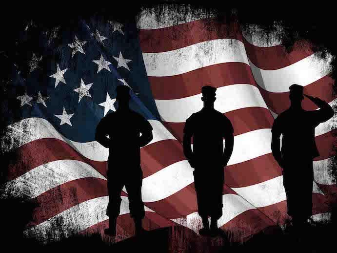 39a16bd6b27b American Flag and US Army Marines Soldiers Wall Art Canvas Painting Decor