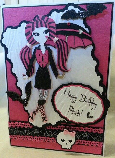 Cricut Teen Scene Elegant Edges Happy Hauntings Monster High
