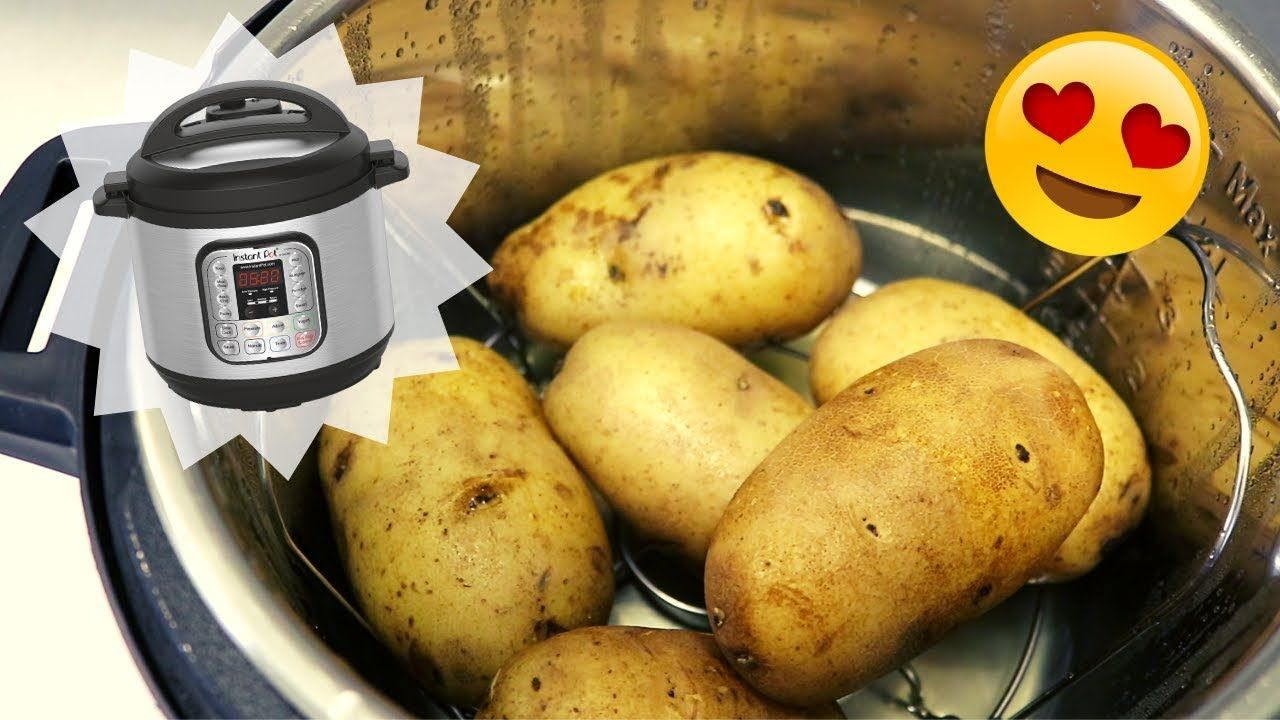 """INSTANT POT """"BAKED"""" POTATOES YouTube in 2020 (With"""