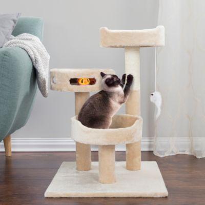 Trademark Global Cat Tree 3 Tier By Petmaker Reviews Home Macy S Cat Tree Condo Cat Tree Buy A Cat