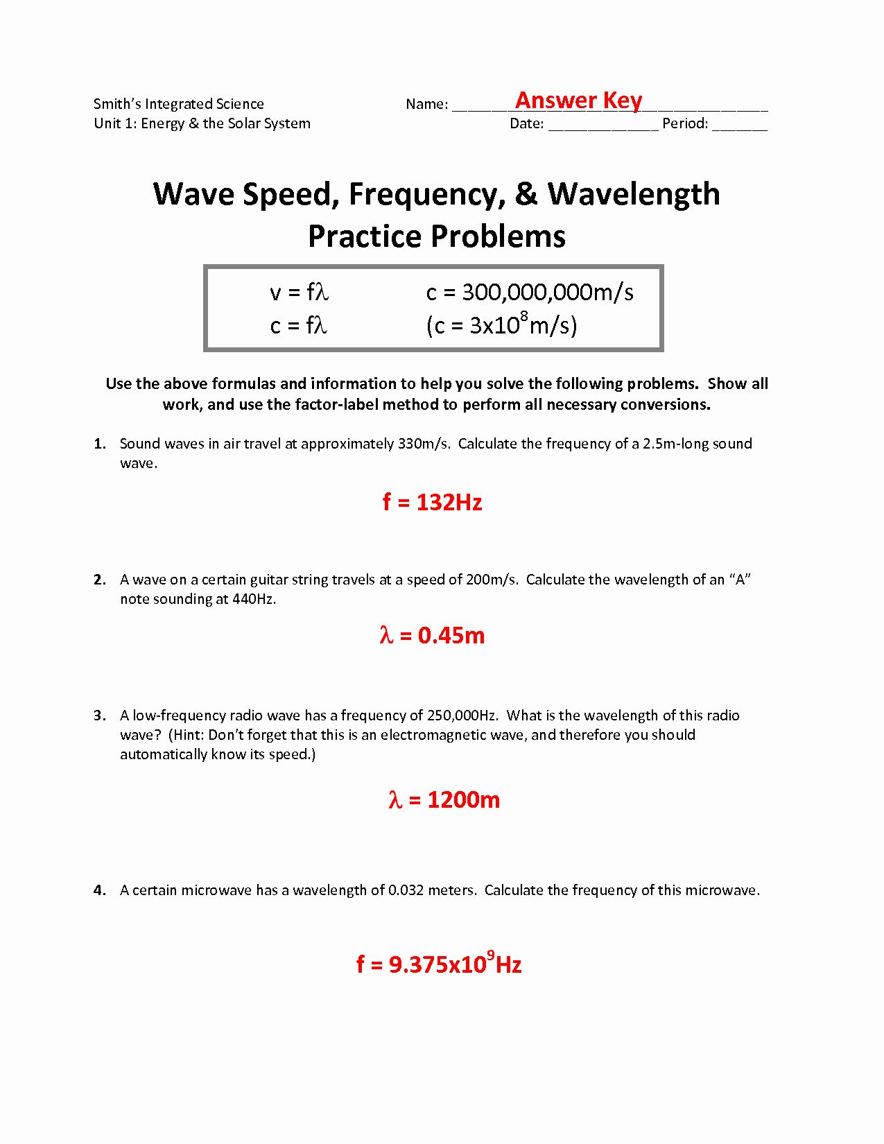 Determining Speed Velocity Worksheet Answers Beautiful 17