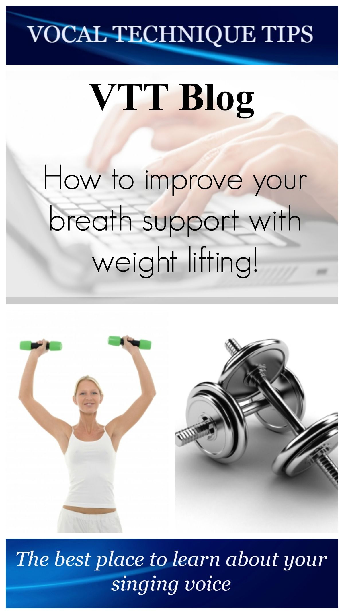Breath support is something I've struggled with for years. But thanks to using dumbbells I found my strength!