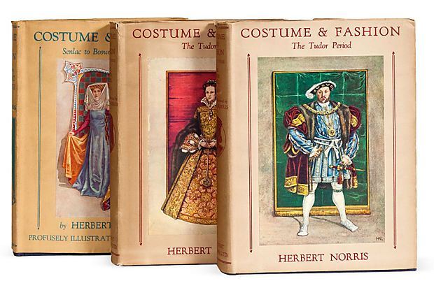 Historical Fashion Books, Set of 3 on OneKingsLane.com