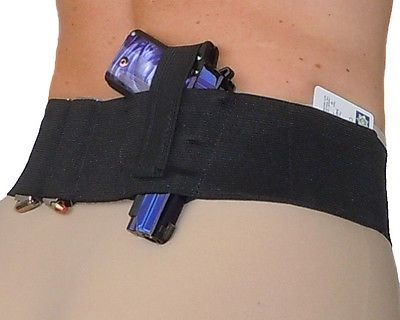 Ladies Womens Concealed Carry Belly Band Gun Holster - Hidden Heat 3