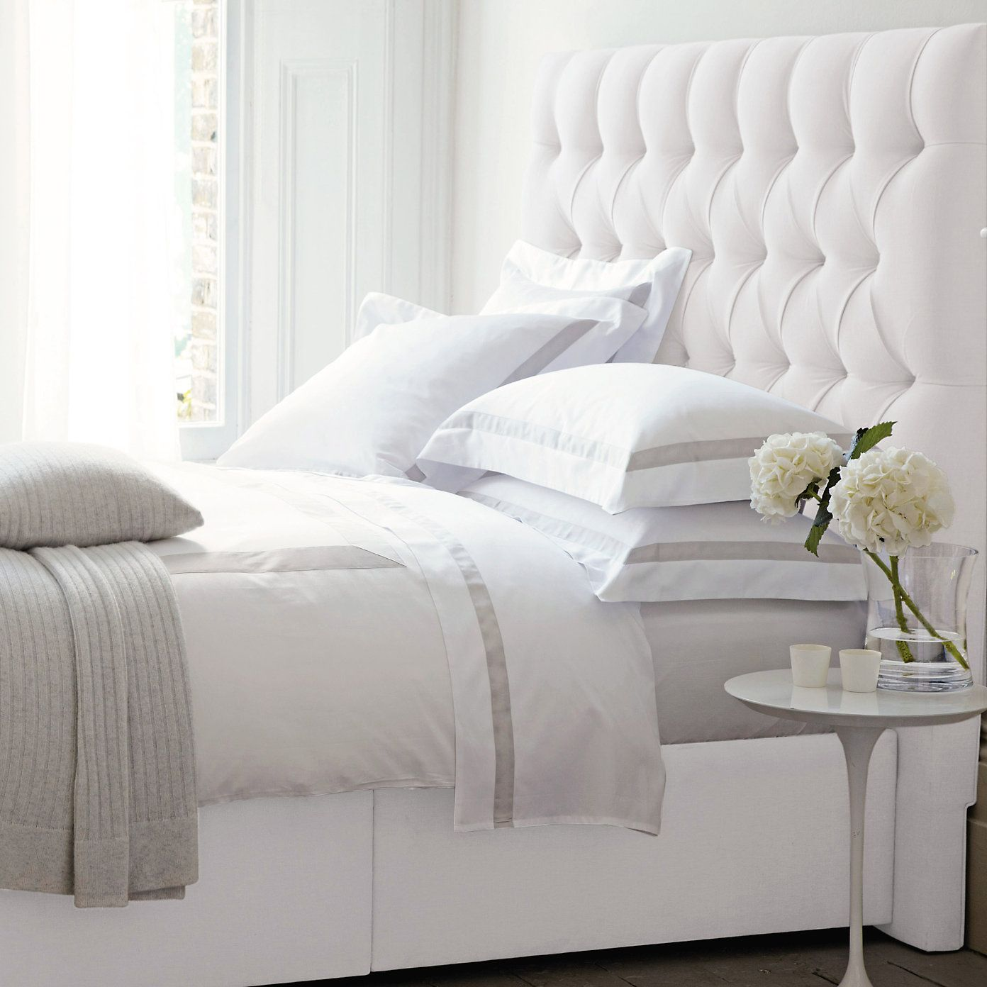 Richmond Headboard Beds The White Company For Peter Pan Bedroom Bedroom Interior Home Decor White Headboard