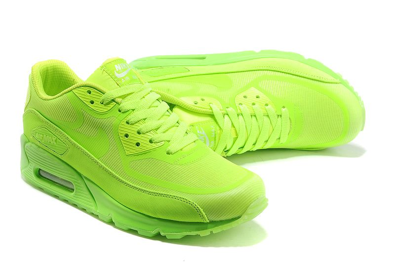 nike air max 90 neon yellow